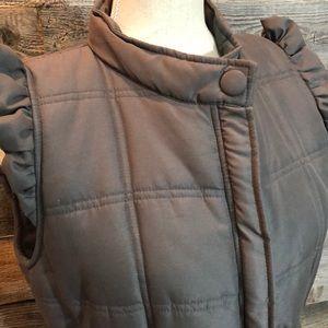 Tulle original clothing puffer vest (L)